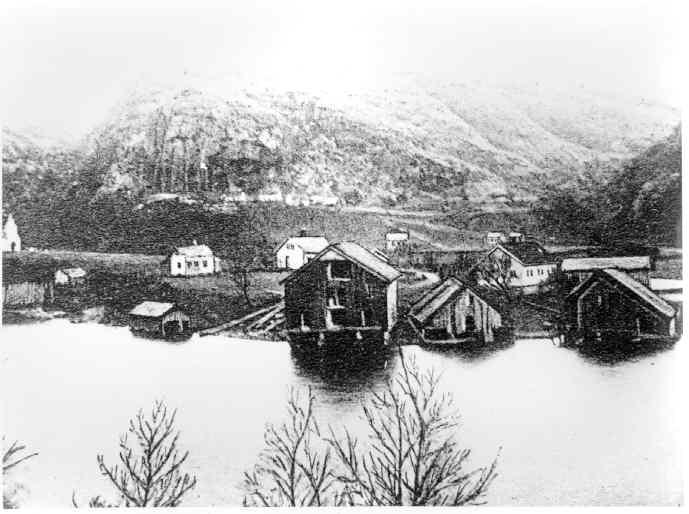 Åna-Sira ca.1910.
