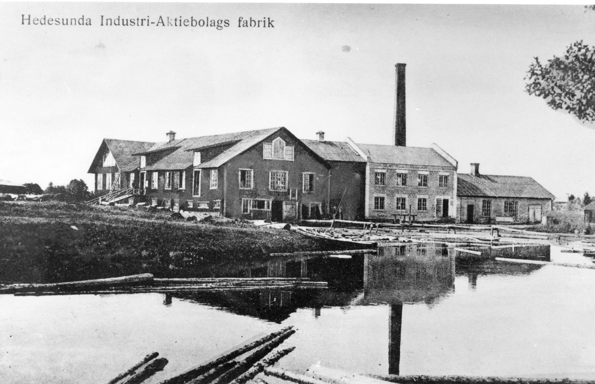 Hedesunda Industri-Aktiebolags fabrik.