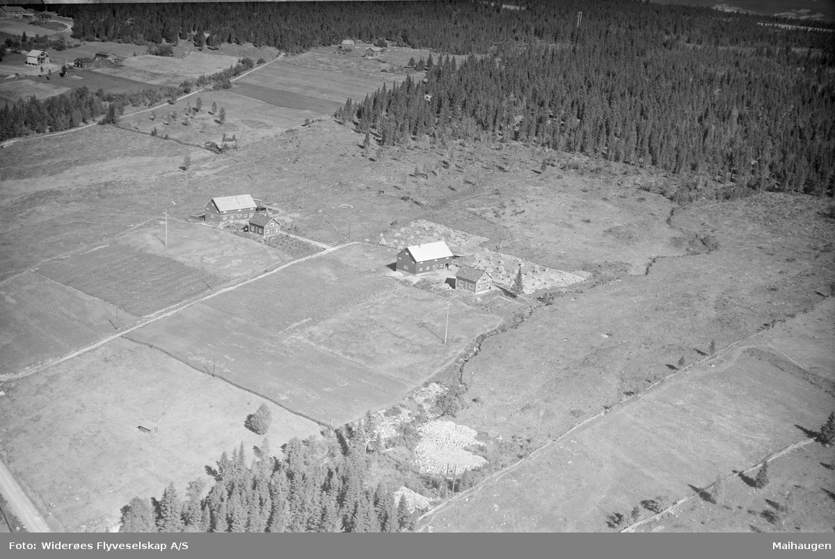 Østre Gausdal, Garstad gård med Nyvang i forgrunnen, Østre Gausdal