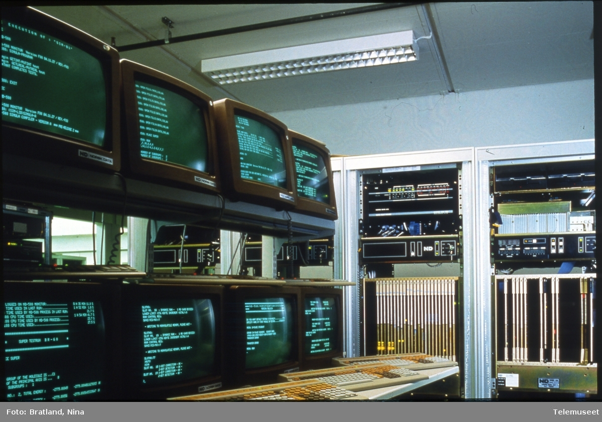 Datamaskiner og terminaler Norsk Data