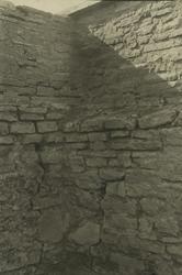 En hörna i ett fästningsverk.