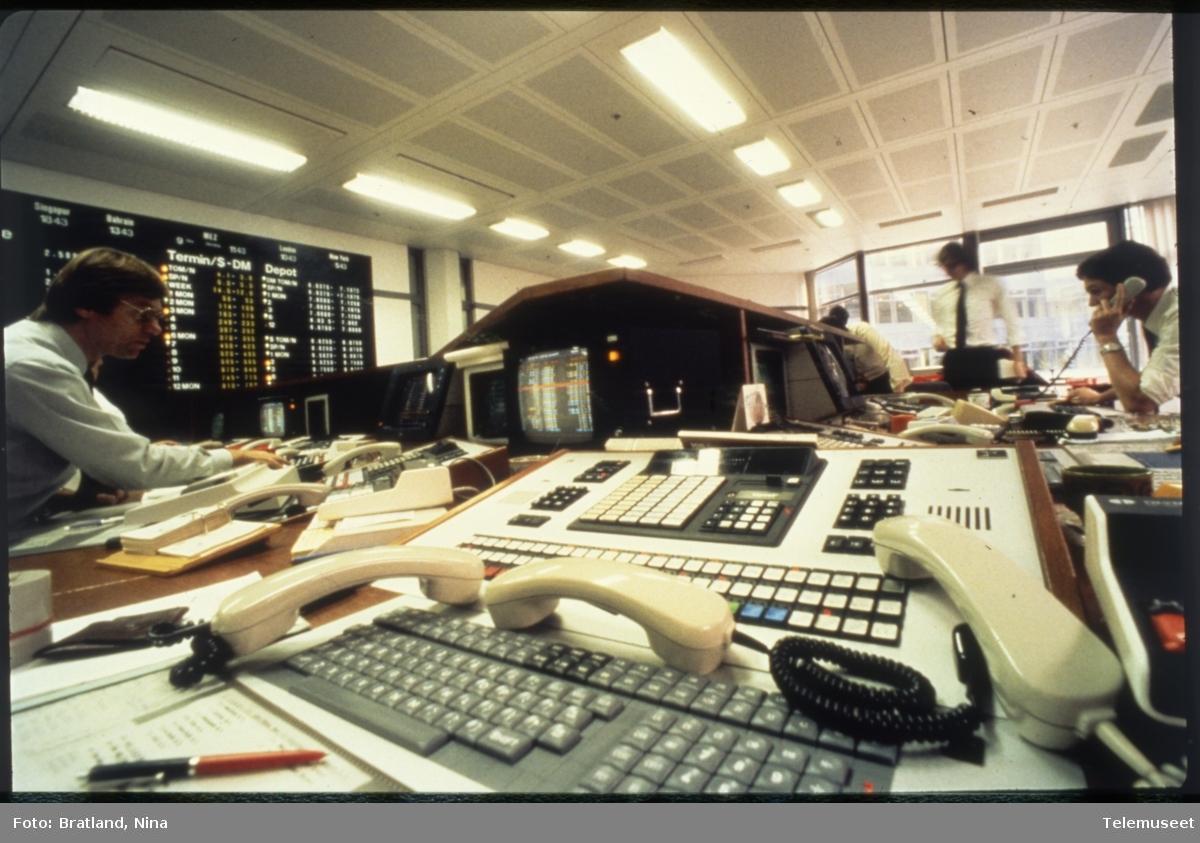Kommunikasjon arbeidssituasjon Norsk Data