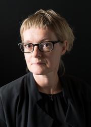 Porträtt Amanda Creuzer, utställningsproducent Nordiska muse