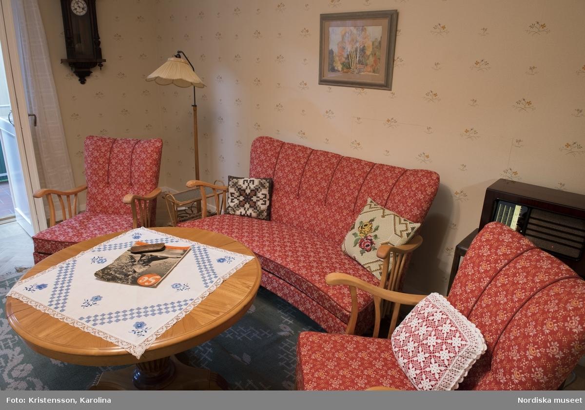Folkhemslägenheten, vardagsrum