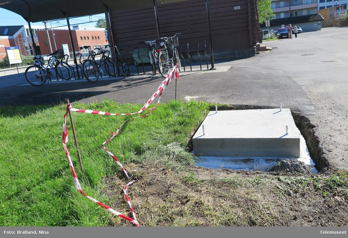 Kjelsåskiosken bygges, et prøverom ved Telemuseet og på Kjelsås jernbanestasjon