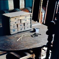 Foto från den första Kronan-utställningen som visades på Kal