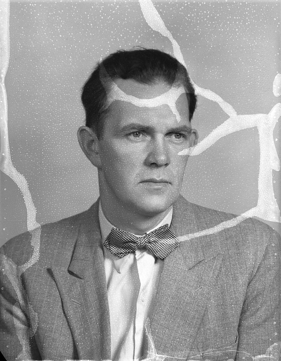 Göran Bergström på Siporex. September 1951