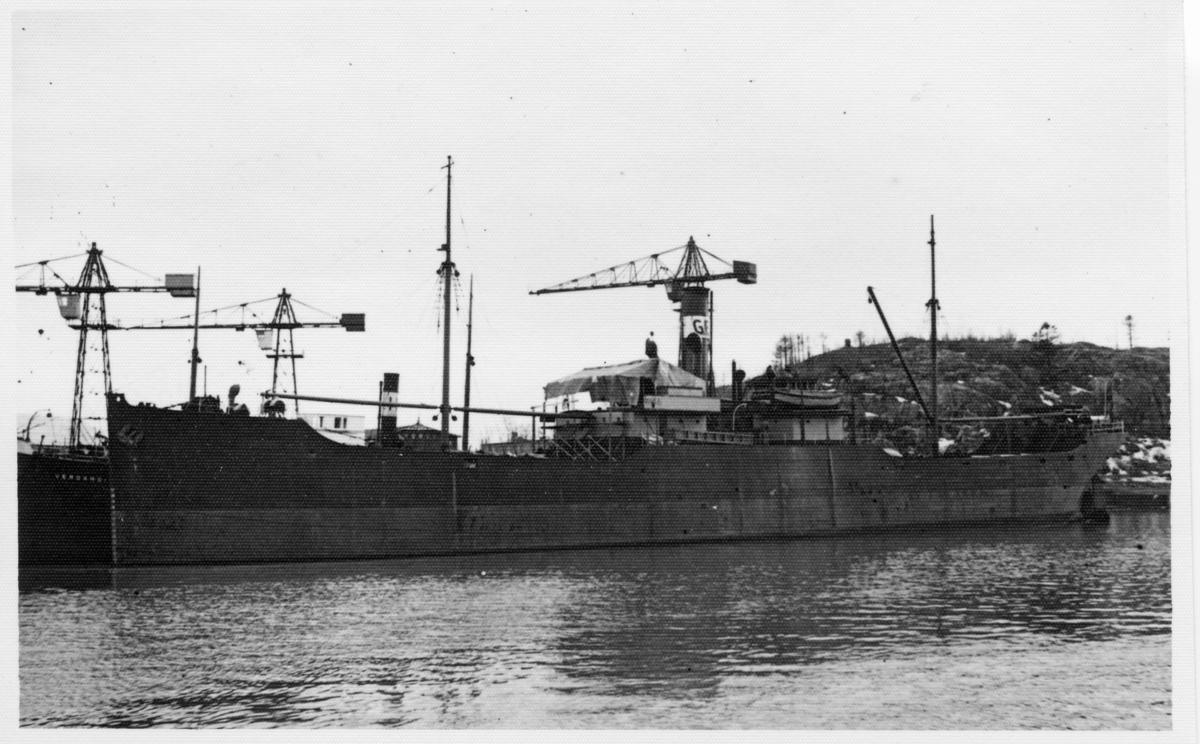 Lastfartyget ss Korsö ägdes av Firma Gustaf Erikson 1944 - 1947