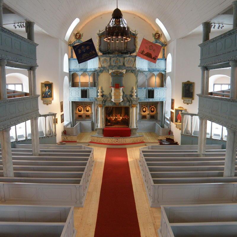 Røroskirka interiør (Foto/Photo)