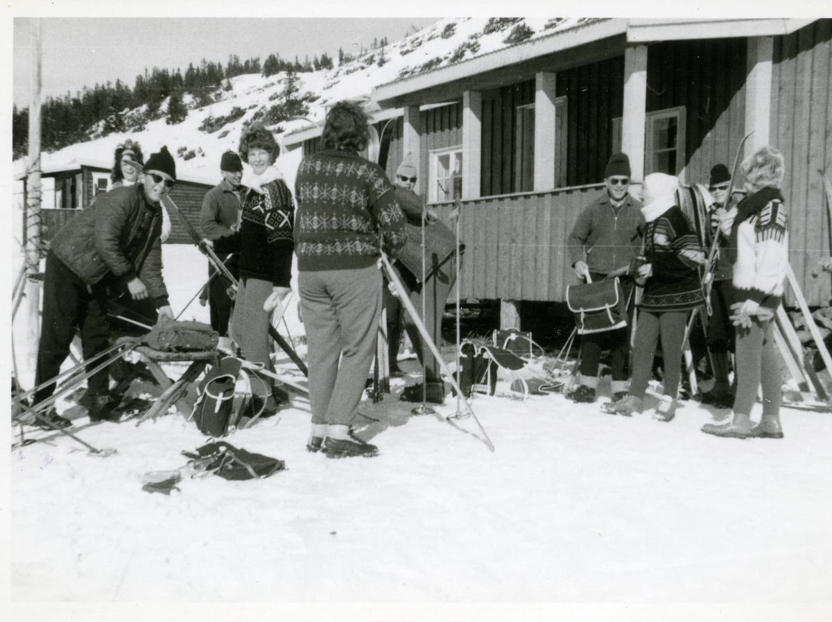Framhaldsskolen på Bagn, 1962/63.