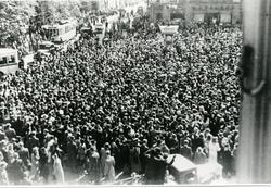 Frigjøringen på Egertorvet, 8.mai 1945.