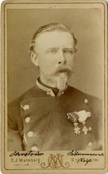 Porträtt av Carl Frans Eduard Öhrström, kapten vid Södermanl