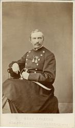 Porträtt av Anders Gustaf Örn, major vid Livgrenadjärregemen