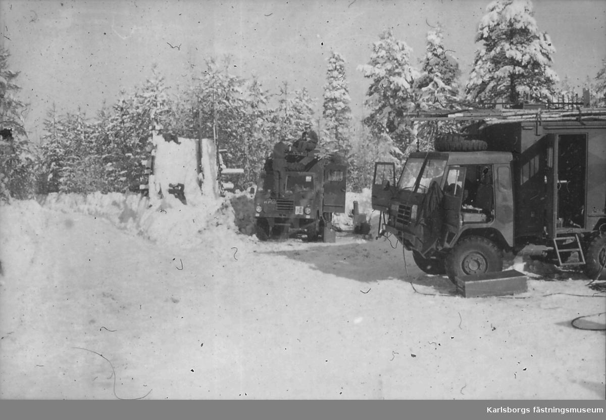 Signaltrupperna, S2 1980-tal. Bilden är en gåva från löjtnant Ragnarsson.