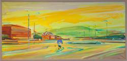 Morgen på Sørsileiret [Maleri]