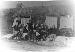 Garnisonsgamma på Svanvik. St. Hansaften