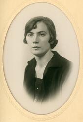 Portrett av Birgit Toppen Rust.