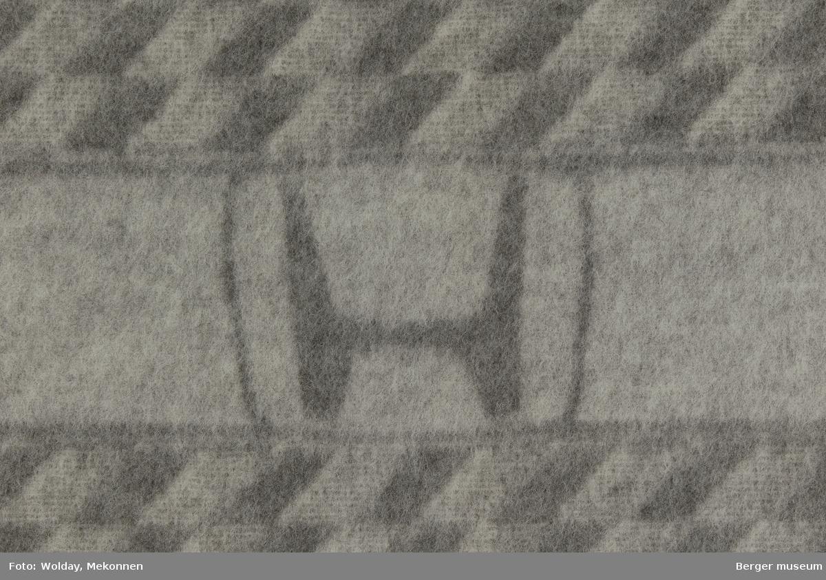 Bilpledd Små romber Logo Honda