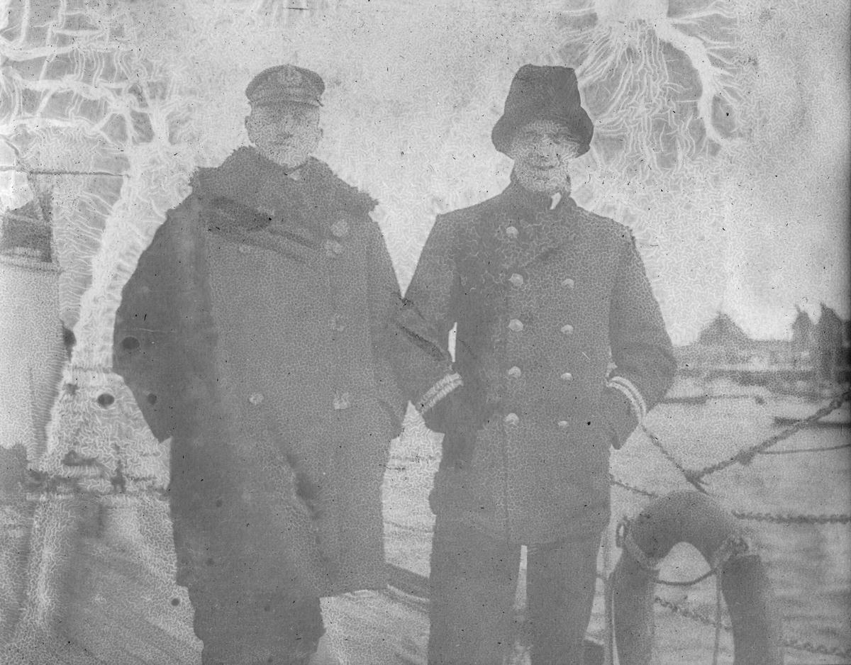 Løytnant Røren og Dr.Chr. Gierløv.