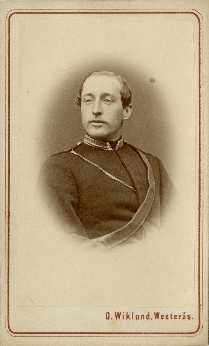 Porträtt av okänd officer vid Skånska kavalleriregementet K 2.