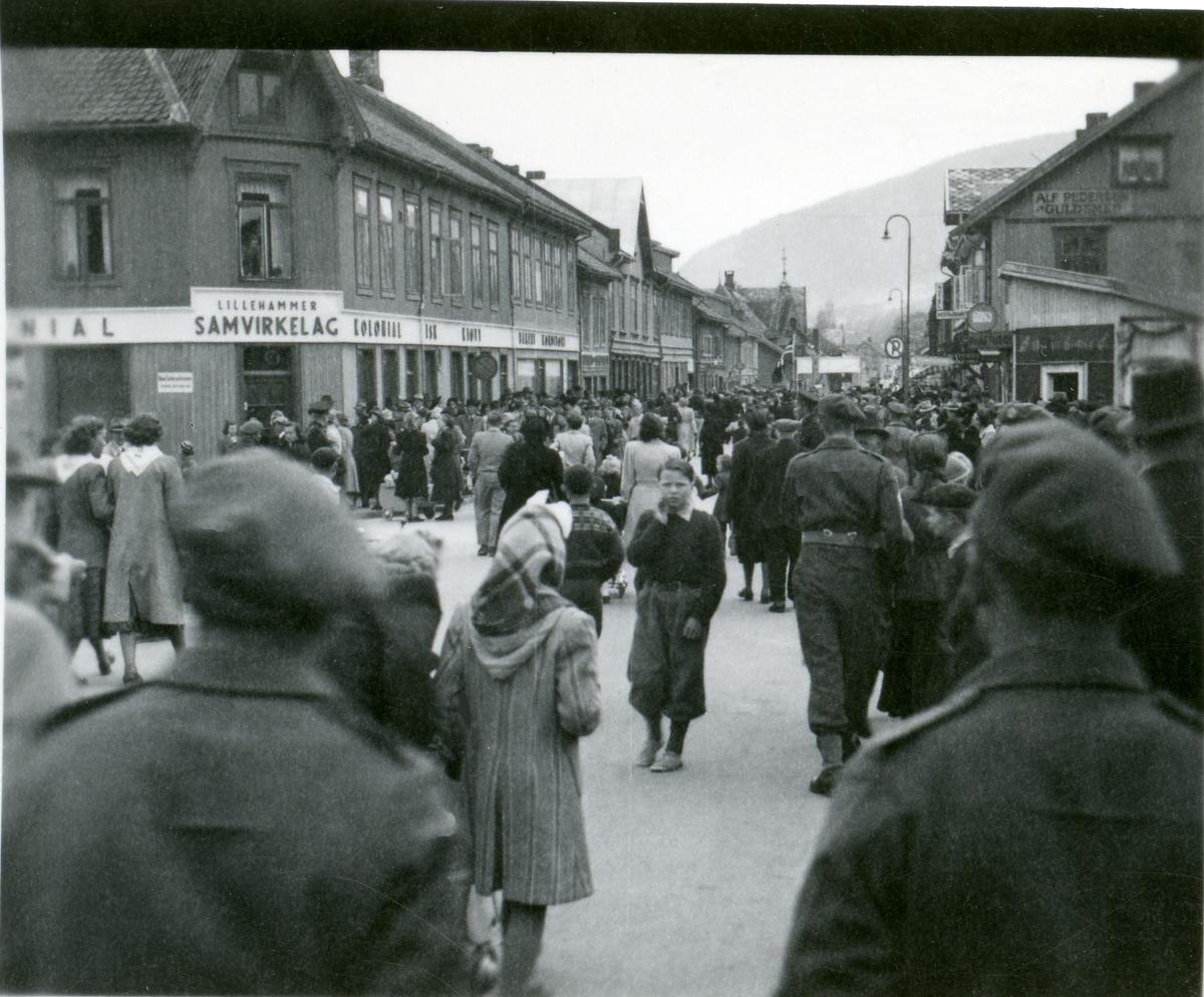 1.mai-feiring på Lillehammer.
