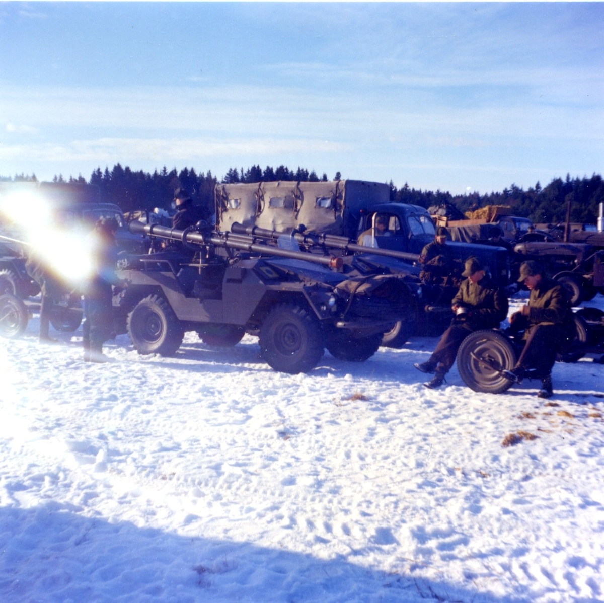 Volvo, pansarvärnspjästerrängbil 9031. A 6, 2 div. 5.Batt.