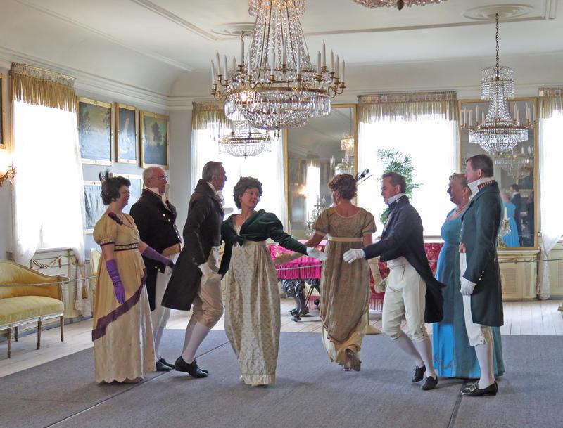 Historisk dans på Bogstad Gård. Foto: Hilde Løwe (Foto/Photo)