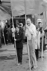 1. mai 1981 i Oslo.Samorg-toget