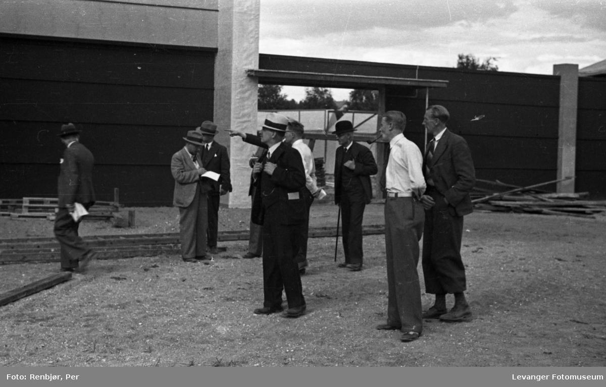 Fra jubileumsutstillingen i 1936, organisering og planlegging.