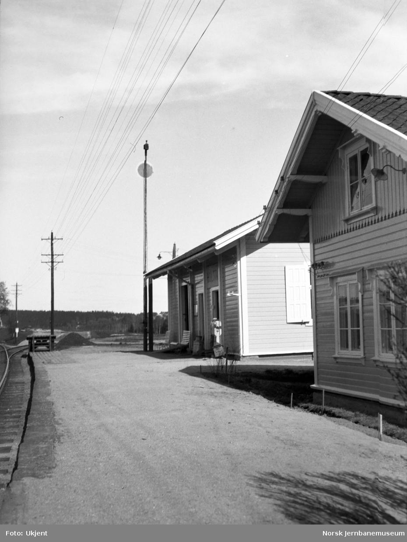 Holstad stasjon med signalskive