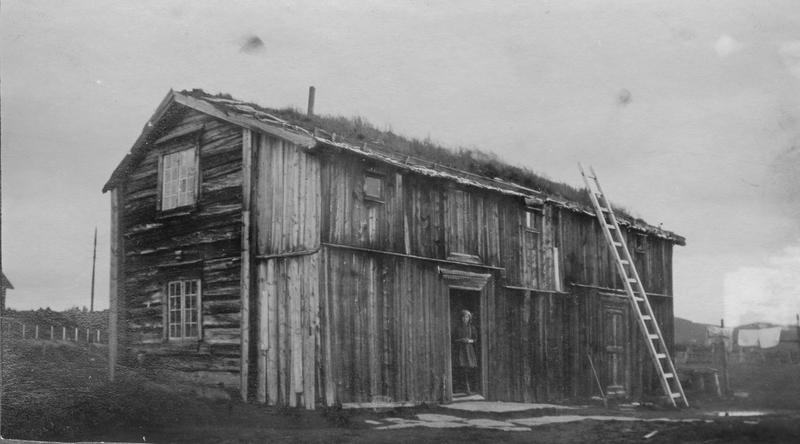 Eggagården på sin opprinnelige plassering i 1923