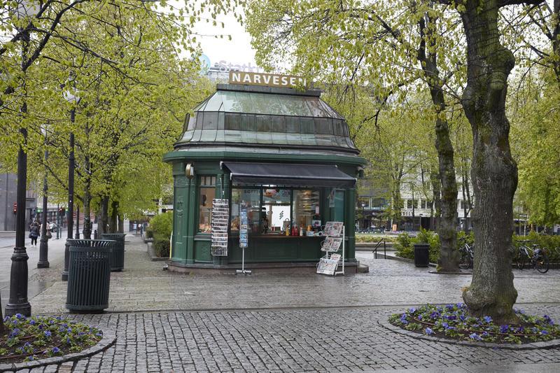 Narvesenkiosken på Karl Johans gate