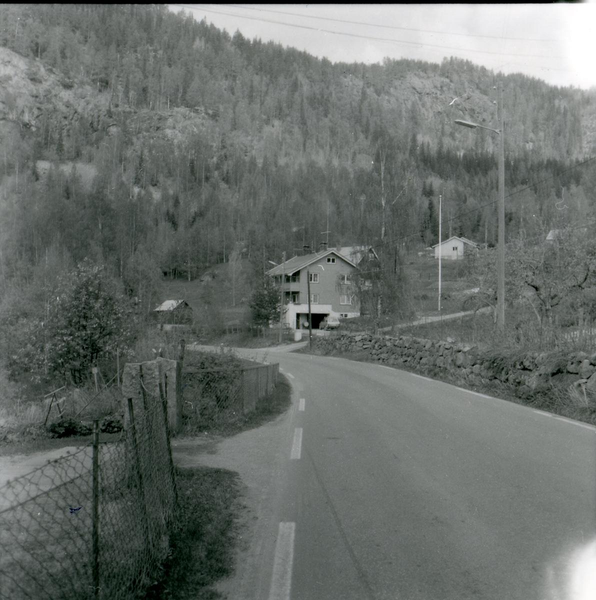 Eiendomen Fagerstrand, Bagn, Sør-Aurdal. Bygget av Sigmund Framnes 1949.