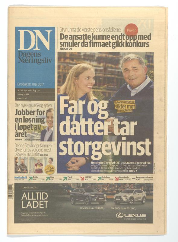 Dagens Næringsliv (Foto/Photo)