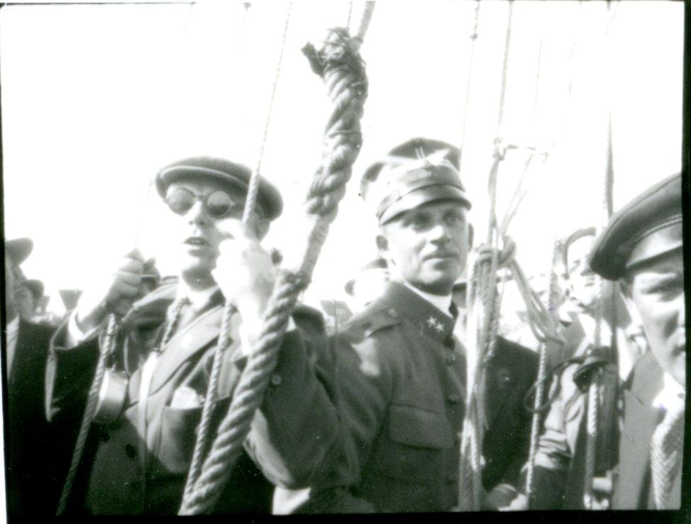 Kulballong m/1930 på Bulltofta flygfält.