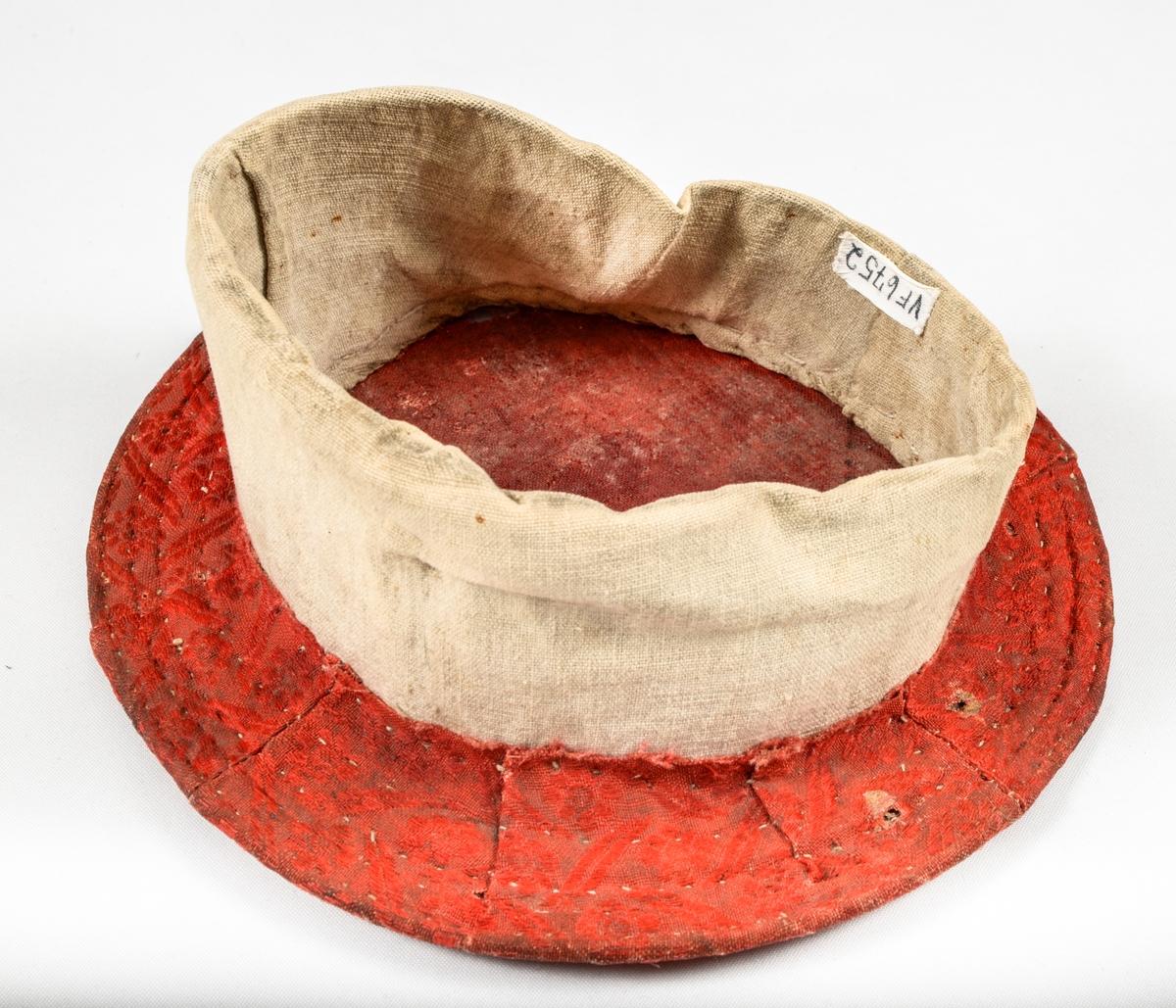Rull (valk), raudt ulldamask i den runde nakkeskiva og lin i trøsken.