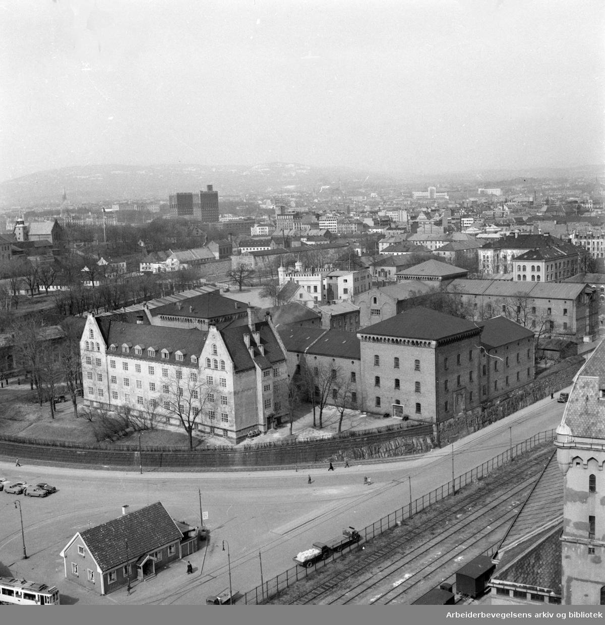 Sjøtollsted. Mai 1951