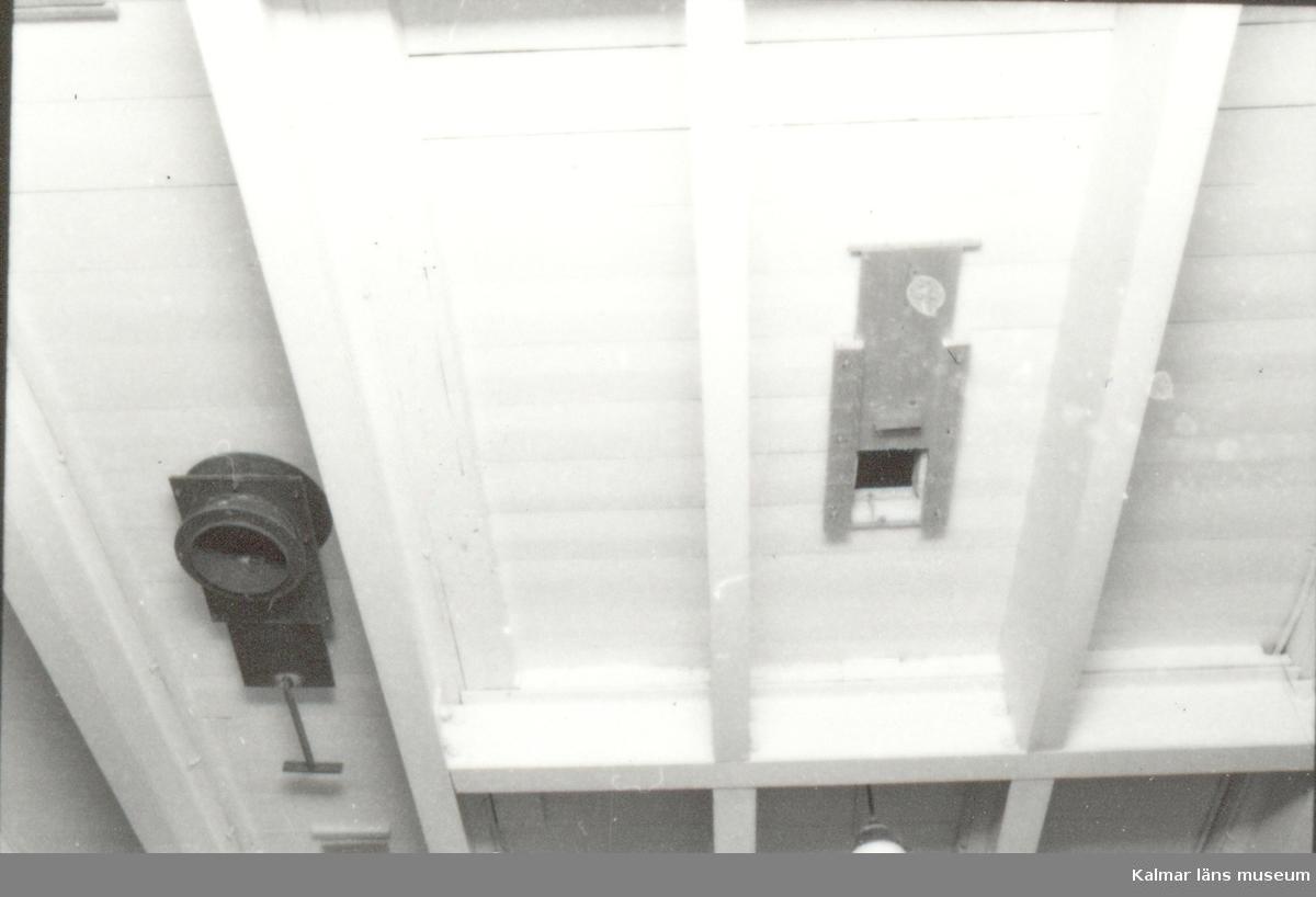 Foto:M.Delden november 1984 (Länsmuseets blivande lokaler) 3:e våningen, detalj.