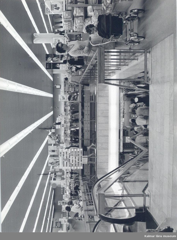 Bild från invigningen av Domus varuhus i Kalmar.