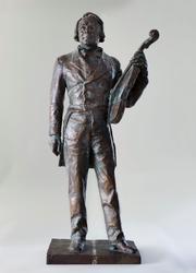 Ole Bull (1810-1880) [Statuett]