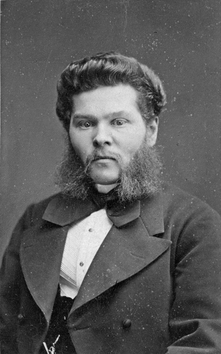 Bokhållare Axel Svanström.
