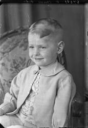 Portrett. Ung gutt. Bestillt av Olav Andreas Osland. Bygdepl