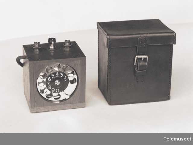 Automatselle med etui, Elektrisk Bureau.