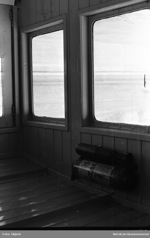 Skiftetraktor Skde 216 106 - førerrom