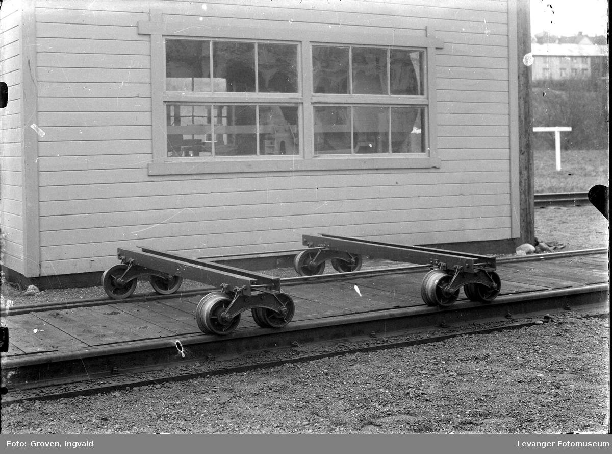 Dressin på jernbaneområdet