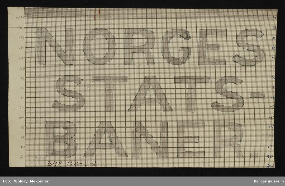 NORGES STATSBANER.