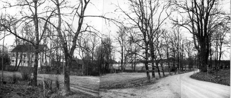 Bilden hopskarvad av 3 negativ.Landsantikvarie Gunnar Ullenius.
