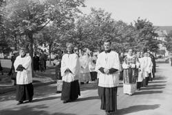 Katolske kirkejub. på Høgskolen