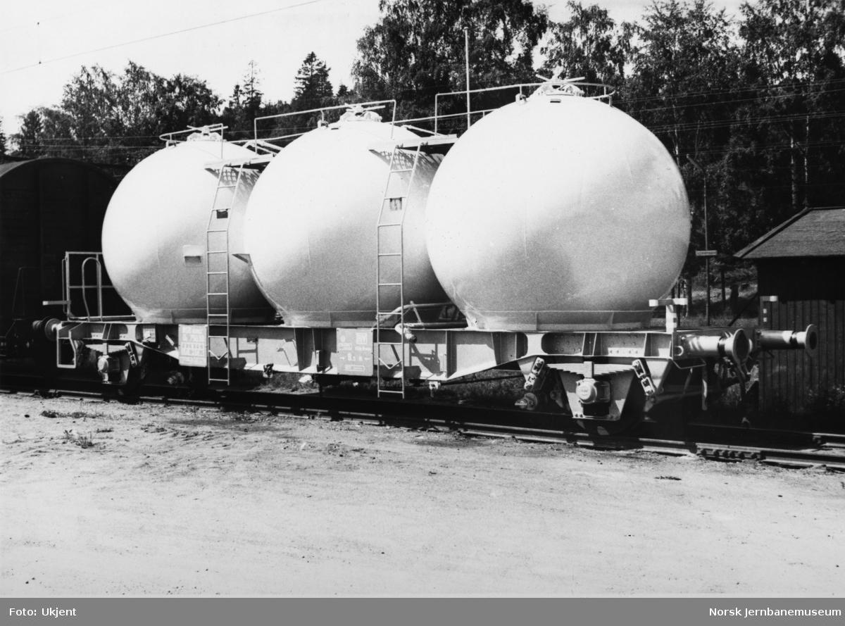 Beholdervogn for transport av mel, litra U5 nr. 75030