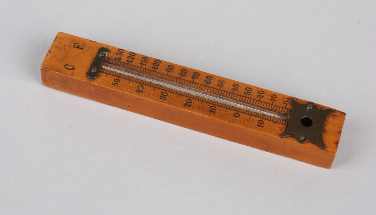 Lite termometer i tre, tosidig.